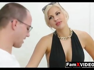 Steamy mommy pummels son-in-law and trains daughter-in-law - Total Free Mother Hump Movies at FamXvideos.com