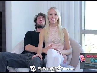 MyVeryFirstTime - Sierra Nevadah lets her alms-man screw her booty for very first ripen