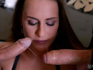 Mea Melone loves to feel pleasure by four dicks at the same time