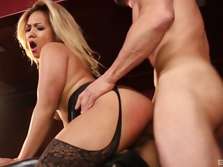 Huge facial ending for Asian MILF Lana Violet after having sexual relations