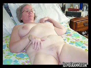 ILoveGrannY Amateur Stripped Pictures Special Line