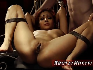 Outdoor enslavement woods and brutal gangbang Poor tiny Pierce