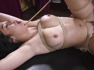 Bondage lay porn for the gaffer Asian willing to do anything