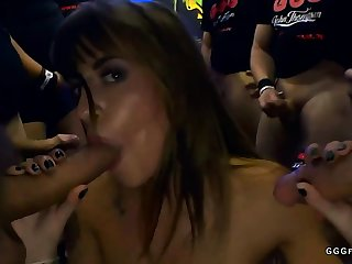 Amazing anal with cums on shaved silvia dellai