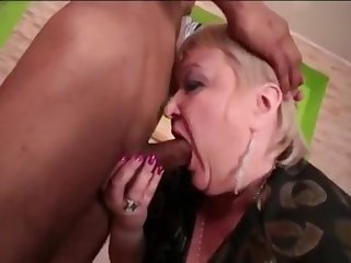Cock-Hungry Grandma Gobbles Up Skinny Asian Old bean