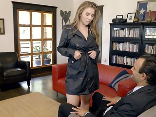 Complying looking busty sexpot Lena Paul gets banged missionary passionately