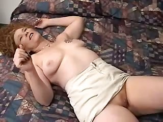 Rank amateur a action chesty wife with frizzy hair lets hubby fingerfuck her